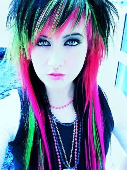 emo punk hairstyle. Punk Girl Style